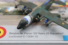 Herpa Wings 1:500 Belgian Air Force Lockheed C-130H-10 20 Years (509497) Limited