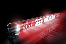 AeroLidz LED Light Bar Cover Insert 52 Inch Jeep Invaision -Red