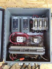 NEMA ENCLOSURE WITH ALLEN BRADLEY CONTACTOR , RELAYS AND SWITCHES