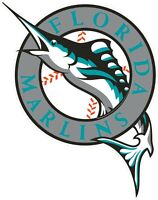 "Miami Florida Marlins MLB Vinyl Decal - You Choose Size 2""-34"""