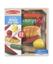 Melissa & Doug Cutting Food Wooden Play Food