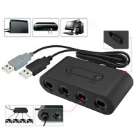 4Port USB for Gamecube NGC Controller Adapter For Nintendo Switch/Wii U /PC LV