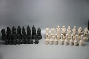 Beneagles Scotch Whisky Chess Major Scottish Figural Pieces Set