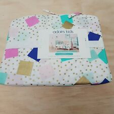 ADAIRS KIDS Confetti Cot Quilt Cover Set NEW + TAGS RRP $99.95