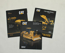 Vintage 2008-2013 Cat Scale Model Construction Accessory Product Catalog Lot