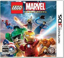Gebraucht Nintendo 3DS Lego R Marvel Super Heroes das Spiel 15642 Japan Import