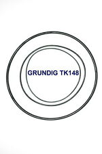SET BELTS GRUNDIG TK148 REEL TO REEL EXTRA STRONG NEW FACTORY FRESH TK 148