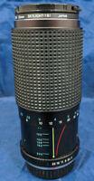 RMC Tokina TL 80-200mm 1.4.5 ø 52 Zoom Lens; P/K Mount + Hoya 55mm skylight