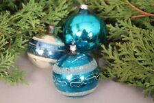 Weihnachtskugeln Handbemalt In Alter Sammler Christbaumschmuck Bis