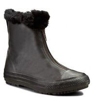 Converse Chuck Taylor All Star Boot Shroud Hi leather faux fur black size 6 U.S.