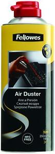FELLOWES Air Duster Can , PC Keyboard Printer Dust  , Safe Compressed Canister