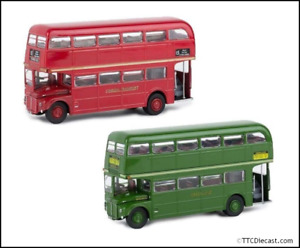 Brekina 1/87 Scale AEC Routemaster Bus, Variants available, 61100, 61101
