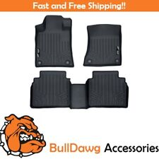 SMARTLINER Floor Mats 2 Row Liner Set for 2019 Nissan Altima
