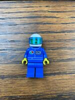 Lego City Race Car Driver Minifigure with 2 Heads /& 2 Headgears NEW M354-vII