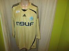 """Olympique marsella adidas manga larga proporcionen camiseta 2008/09 """"n9uf"""" talla XL nuevo"""