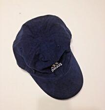 Adidas Niño Gorra de béisbol con logotipo bordado de la Juventud Azul  Marino Blanco gancho bucle 5c197b5ff22