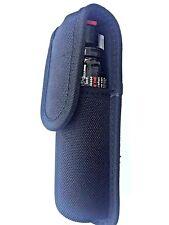 Nylon black molded large pepper spray mace holder case pouch
