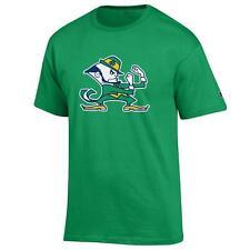 Notre Dame Fighting Irish leprechaun NCAA T shirt Green