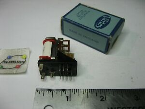 Varley Miniature Relay VP4 DPDT 185 Ohm Coil - USED QTY 1