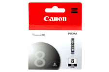 GENUINE Canon CLI-8 Black Ink Cartridge