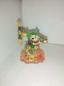 skylanders Rare Jade Fire Kraken Hybrid Swap Force figurine collection
