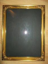 Antiker Bilderrahmen.Bronze, gewölbtes Glas.  Zum stellen und hängen.