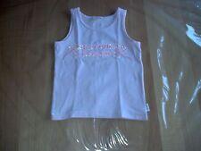 Top T Shirt Shirt Pulli von Pampolina in Größe 128 in rosa mit Perlenstickerei