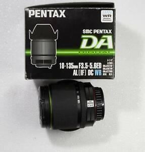 Pentax lens DA  18-135 f3.5-5.6 DC WR