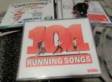 101 Running Songs 5 CD SET/Michael Buble Christmas Party Megamix 2 CD- job lot