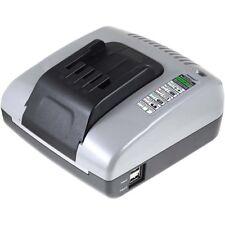 Powery Ladegerät mit USB kompatibel mit Dewalt Typ DW0246 20V-36V   Schwarz