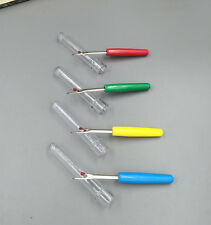 Free 10X mini Seam Ripper Stitch Picker Unpicker Thread Cutter Sewing Tool & Cap