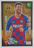 LIONEL MESSI BALON DE ORO CARD - Panini Adrenalyn XL La Liga 2019 2020 BARCELONA
