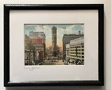 Times Square, New York City 1908 Framed print