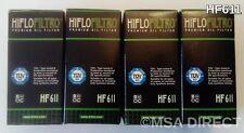 HUSQVARNA TC449/TE449/TE511 (de 2011 a 2014) HIFLOFILTRO FILTRO DE ACEITE HF611 X 4