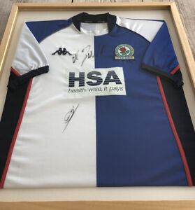 Framed Rovers Shirt 03/04- Signed By Cristiano Ronaldo & Zidane!