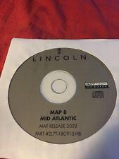 LINCOLN OEM NAVIGATION DISC CD 2L7T-18C912-HB MID ATLANTIC 8