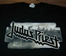 JUDAS PRIEST BRITISH STEEL 2009 NORTH AMERICAN TOUR T-Shirt 2XL XXL NEW