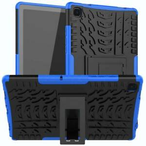 For Samsung Galaxy Tab A7 10.4 T500 2020 Shockproof Stand Hard Rubber Case Cover