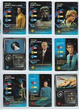 """1996 Star Trek the Card Game TCG  CCG """"RARE"""" cards."""