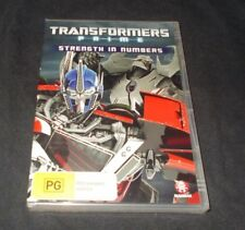 TRANSFORMERS PRIME STRENGTH IN NUMBERS DVD BRAND NEW AND SEALED REGION 4
