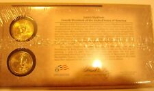 2007 PRESIDENTIAL $1 COIN COVER JAMES MADISON