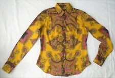 Blouse by ETRO in fine cotton fabric - UK size 10
