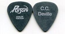 POISON 2006 Anniversary Tour Guitar Pick!!! CC DeVILLE custom concert stage Pick