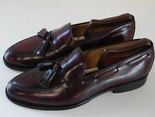 Allen Edmonds Grayson Burgundy Leather Loafer Dress Shoes 8297 Men's Size 9 C