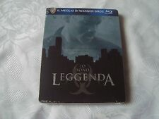 I AM LEGEND Blu-Ray SteelBook NEW&SEALED back + inside artwork Will Smith