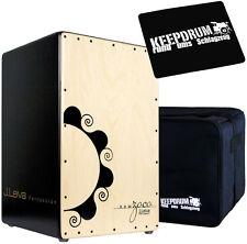 J.Leiva Zoco 2.0 Cajon + KEEPDRUM Tasche + Sitz-Pad