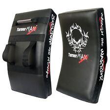 TurnerMax boxe coussins de frappe bouclier mma kick pads training boxing pads incurvée