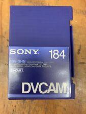 🔥 Sony PDV-184N DVCAM for HDV Tape.