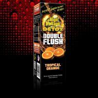 16 Oz HIGH VOLTAGE DOUBLE FLUSH TROPICAL ORANGE Detox Cleanser DRINK W CAPSULES