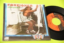 "FOREIGNER 7"" HEAD GAMES - REV ON THE RED LINE - ORIG ITALY 1979 NM"
